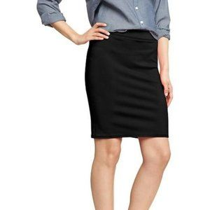 Black stretch pencil skirt from Old Navy